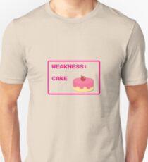 CAKE is my weakness Unisex T-Shirt
