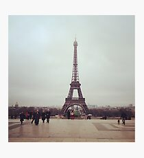 Beyond The Eiffel Tower Photographic Print