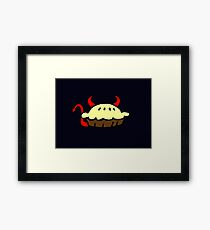 Devil Pie Framed Print