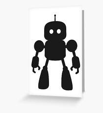 I Robot Greeting Card