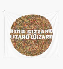 King Gizzard and the Lizard Wizard Wall Tapestry