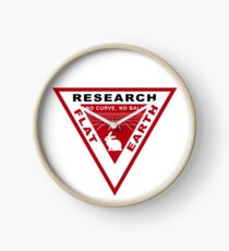 RESEARCH FLAT EARTH PERSPECTIVE GRID PATCH Clock