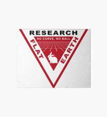 RESEARCH FLAT EARTH PERSPECTIVE GRID PATCH Art Board