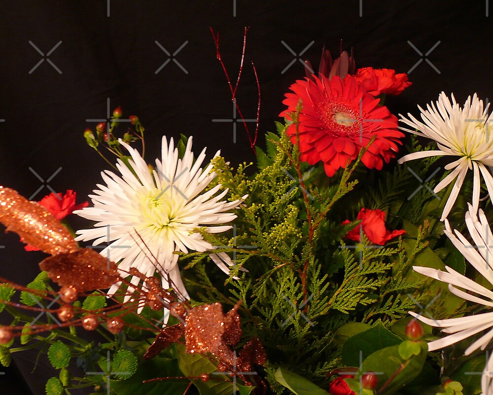 Christmas Bouquet by Gail Bridger