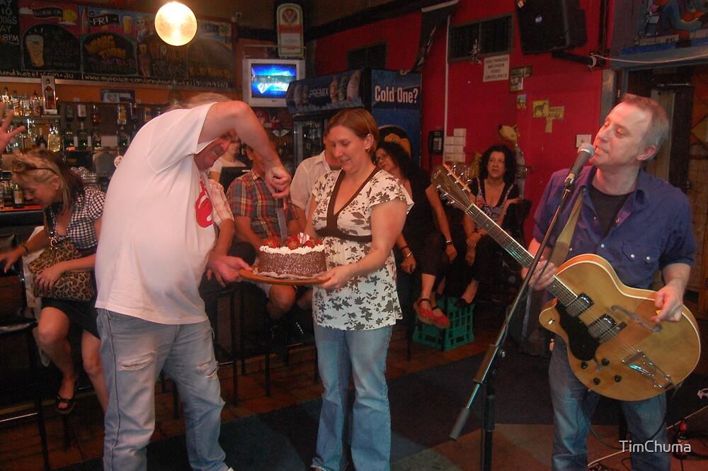 Cutting the cake by TimChuma