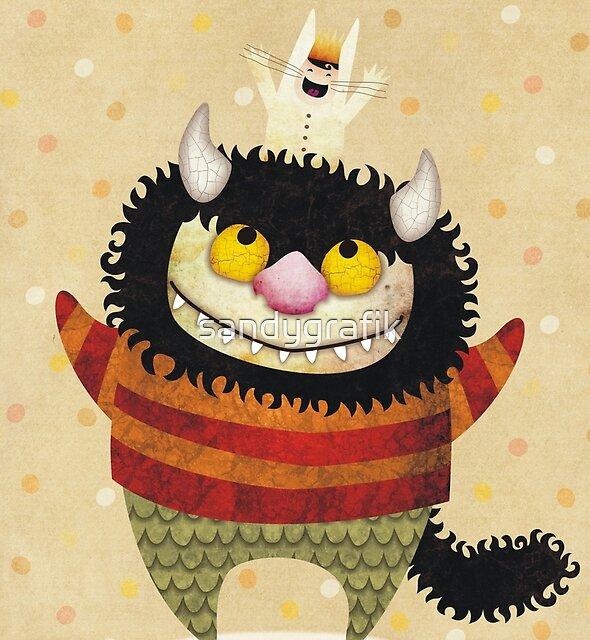 Friendship Monster by sandygrafik