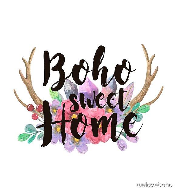 Boho sweet Home by weloveboho