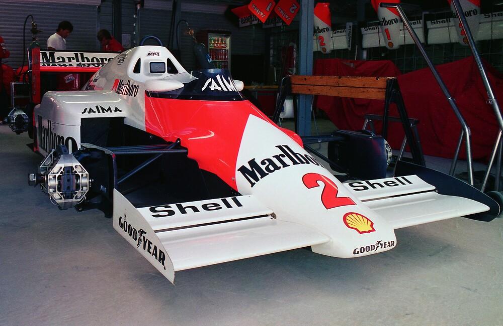 Prost's McLaren MP4 by Des Berwick