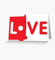 Camper Love Greeting Card