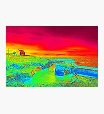 Thermal Port Ness, Scotland. Photographic Print