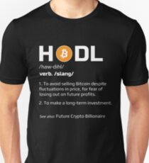835dd6fea17d HODL Definition Bitcoin Slim Fit T-Shirt