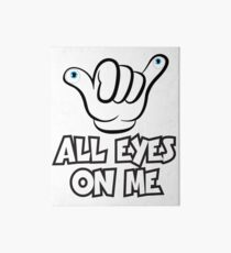 All Eyes on Me Graphic Design Art Board