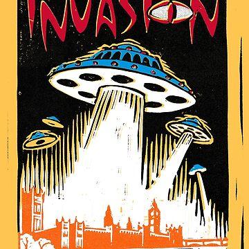 INVASION - London skyline by wonder-webb