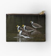 Masked Lapwings Studio Pouch