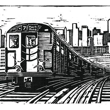 New York Subway Train by wonder-webb