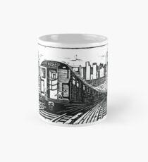 New York Subway Train Mug