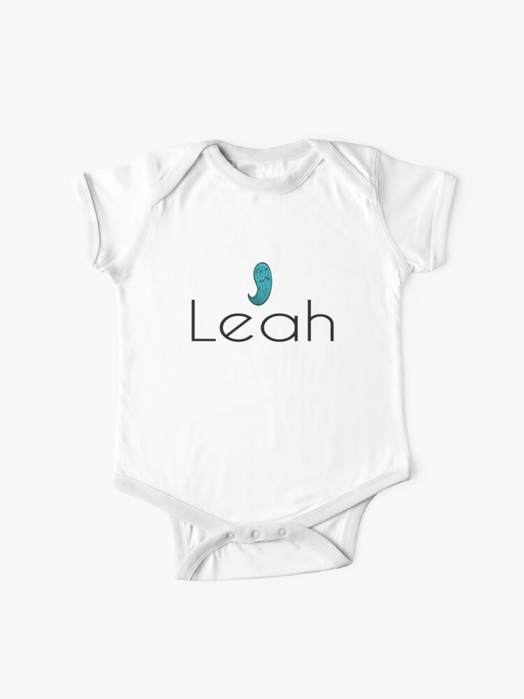 Leah Cute Names Girl Names   Baby One-Piece