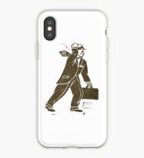 Rush Hour Man iPhone Case