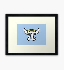 Angel Pi Framed Print