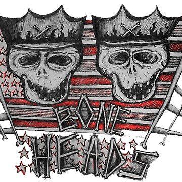 Bone Heads! by coryvclark