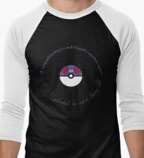 A Masterball to catch them all Men's Baseball ¾ T-Shirt