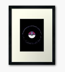 A Masterball to catch them all Framed Print