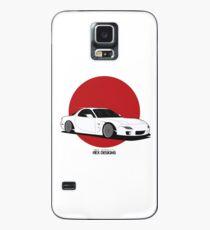 Mazda RX7 (Rising Sun) Case/Skin for Samsung Galaxy