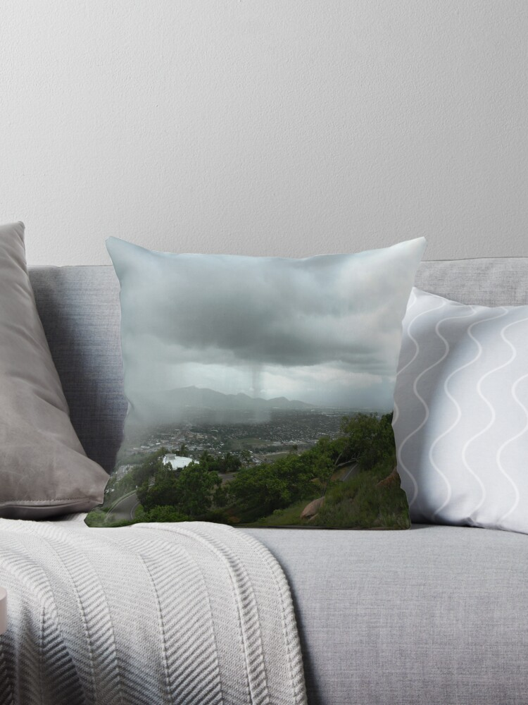 Shower Curtain Throw Pillow By Ryleigh