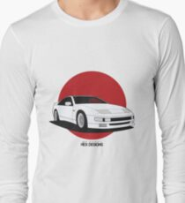 Nissan Fairlady 300ZX Z32 (Rising Sun) Long Sleeve T-Shirt