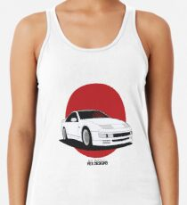 Nissan Fairlady 300ZX Z32 (Rising Sun) Racerback Tank Top