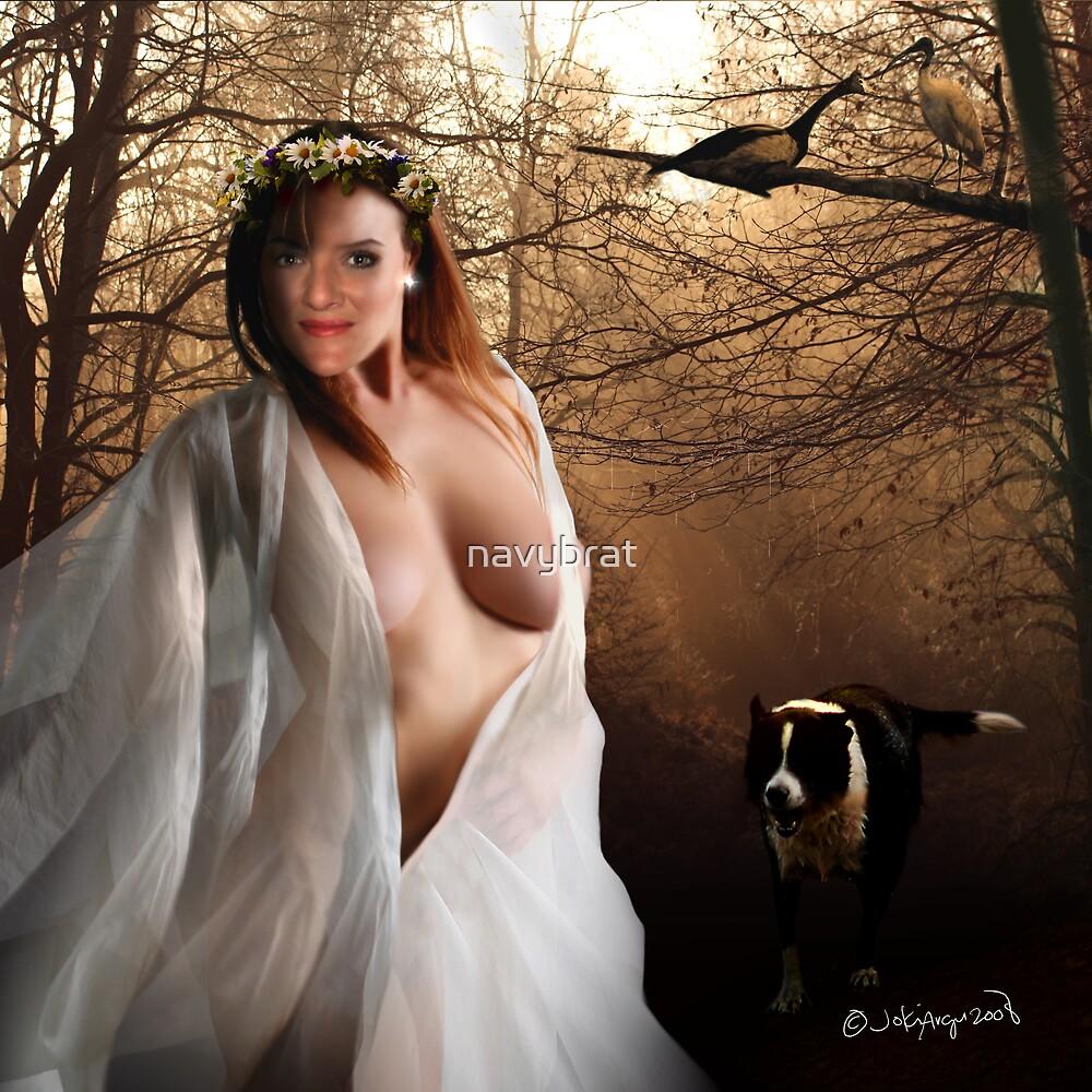 woodland nymph by navybrat