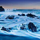Pencarrow Licorice Rocks by Ken Wright