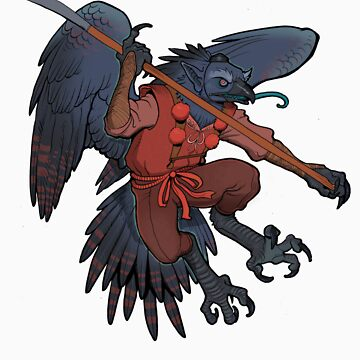 Tengu shirt by missmonster