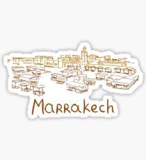 Marrakesh Panorama Sticker