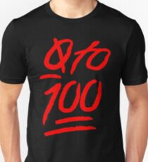 0 To 100 [Red] T-Shirt
