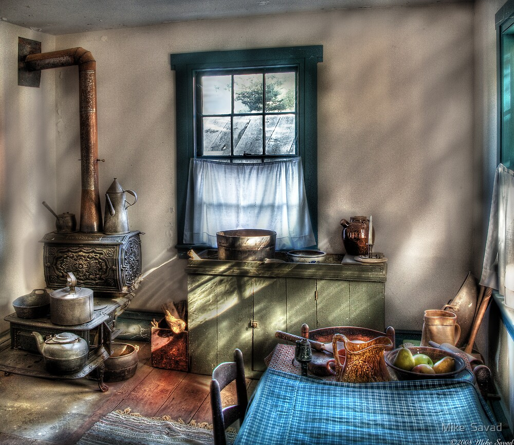 """Old Fashioned Kitchen"" By Michael Savad"