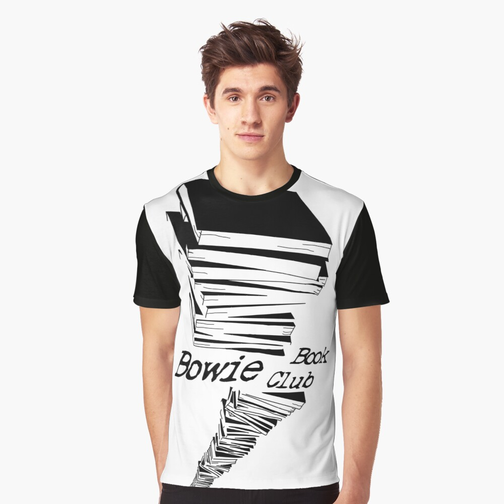 David Bowie Book Club Graphic T Shirt By Jpearson980 Redbubble