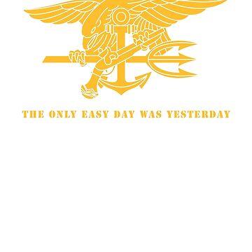 Navy SEALs Stencil by 5thcolumn