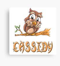 Cassidy Owl Canvas Print