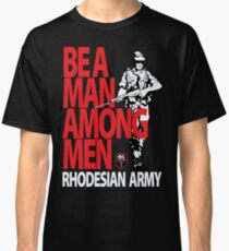 Rhodesian Army Recruiting Poster Graphic Classic T-Shirt