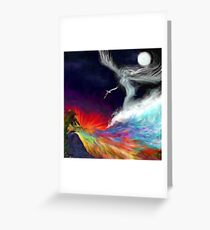 Colours Of The imagination: Symbolic Flows Greeting Card