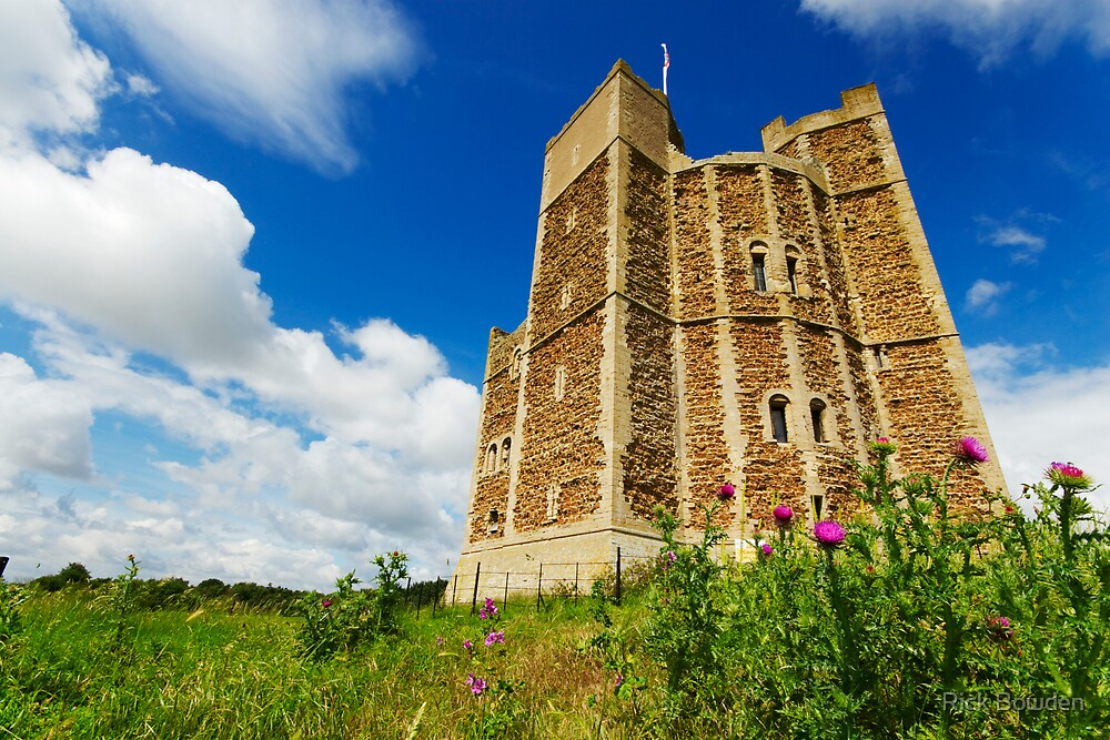 Orford Castle by Rick Bowden
