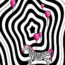 Pink Zebra Dream by celtix