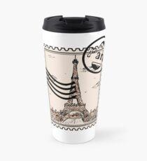 Paris Stamp Travel Mug