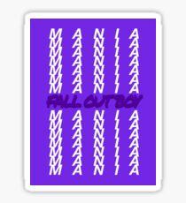 MANIA  Sticker