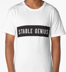 Stable Genius - Trump Collection Long T-Shirt