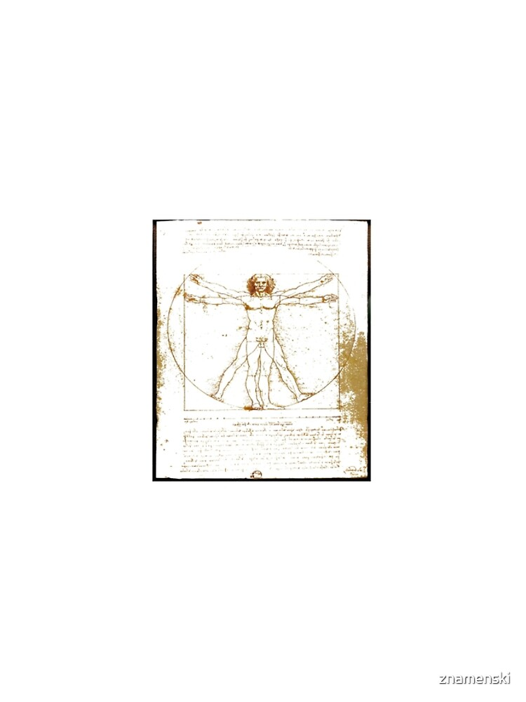 Vitruvian man, Naked man waving his arms and legs #NakedMan #LeonardodaVinci #VitruvianMan #Vitruvian by znamenski