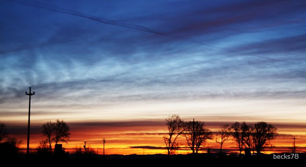 Italian sunrise by becks78