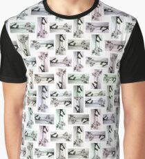 Orchid Pattern Graphic T-Shirt