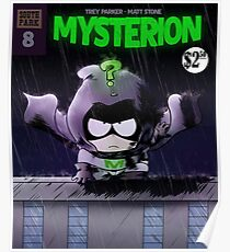 Mysterion Comic Poster